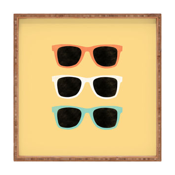 Allyson Johnson Summer Shades Square Tray