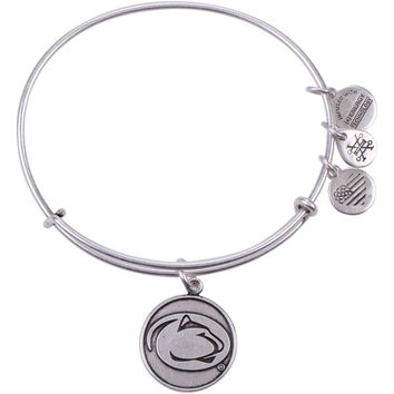 Women's Alex and Ani Silver Penn State Nittany Lions Bracelet