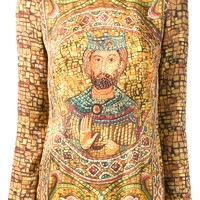 Dolce & Gabbana Ecclesiastical Printed Long Sleeve Top - Julian Fashion - Farfetch.com