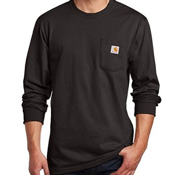 Men's Workwear Midweight Jersey Pocket Long-Sleeve T-Shirt K126