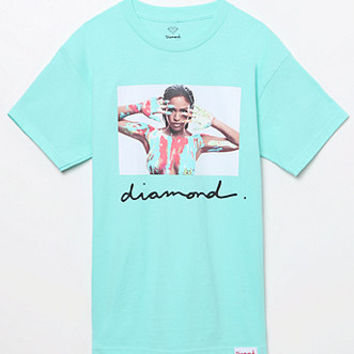 Diamond Supply Co x Cassie Neon Hand T-Shirt at PacSun.com