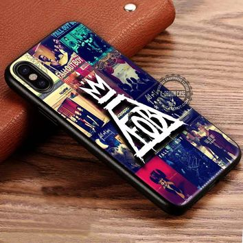 Collage Fall Out Boys iPhone X 8 7 Plus 6s Cases Samsung Galaxy S8 Plus S7 edge NOTE 8 Covers #iphoneX #SamsungS8