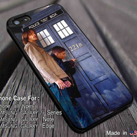 Breaking in Entry | Tardis Superwholock | Sam and Dean iPhone 6s 6s+ 5s 5c 4s Cases Samsung Galaxy s5 s6 Edge+ NOTE 5 4 3 #movie #cartoon #superwholock #supernatural #doctorwho #sherlockholmes ii