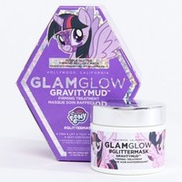 GLAMGLOW ASOS EXCLUSIVE My Little Pony Purple Gravitymud 50g at asos.com