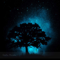 Glow in the Dark Star Poster | Tree and Field