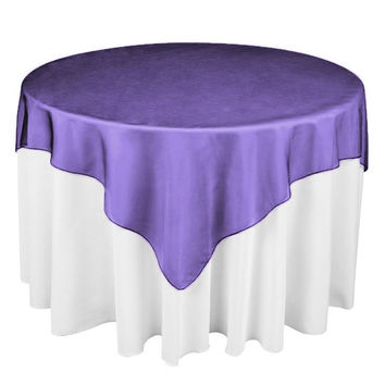 "Hot Sale 25 Colors 180cmx180cm (72""X72"") round shape Hotel Restaurant  Organza Tablecloth Overlay party table runner"