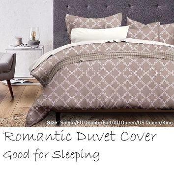 2018 New Duvet Cover Set, Protects and Covers your Comforter / Duvet Insert, Super Soft