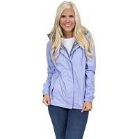 Preptec Rain Jacket in Lilac by Lauren James - FINAL SALE
