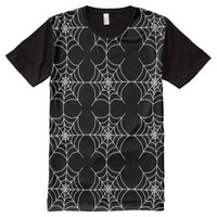 Spiderweb Pattern (Customizable Web Color) All-Over Print T-shirt