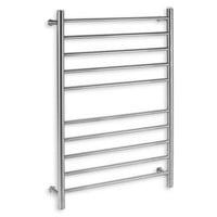 Myson Wall 10-Bar Towel Warmer in Bright Pearl