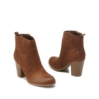 Madden Girl Chunky Heel Ankle Booties