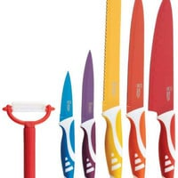6 piece non-stick coated cutlery set