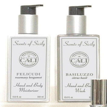 Scents of Sicily Hand and Body Moisturizer - 3 Scents