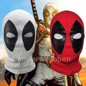 Marvel Deadpool Masks Superhero Balaclava Halloween Cosplay Costume X-men Hats Headgear Arrow Party Neck Hood Full Face Mask