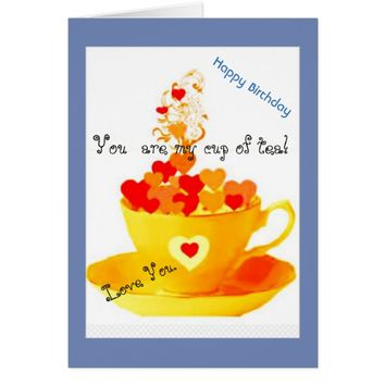 Whimsical Love You Birthday Card