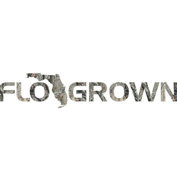 Camo Decal |  FLOGROWN