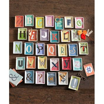 Alphabet Letter Trays