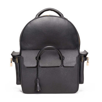 Indie Designs Custom Made Buscemi PHD Large Leather Backpack