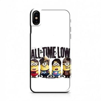 All Time Low Minion iPhone X Case