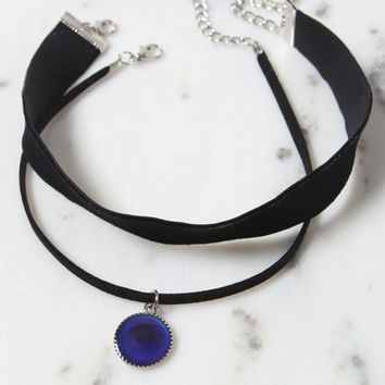 LA Hearts Thick Mood Ring Choker Set at PacSun.com