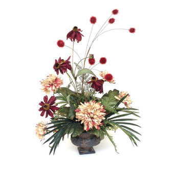 Gorgeous Silk Flower Arrangement