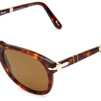Persol PO0714 Havana/ Polarized Brown Size 52mm Sunglasses