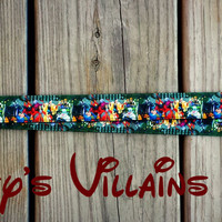 Disney Inspired Villains Lanyard #2, Pin Trading Lanyard, ID holder, Accessories, Key Holder