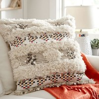 AYA MOROCCAN WEDDING BLANKET PILLOW COVER