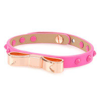 Studded bow bracelet - Mid Pink | Gifts for her | Ted Baker ROW
