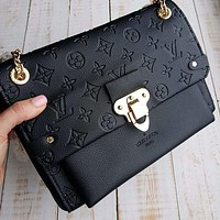 Louis Vuitton Lv Fashion New Monogram Print Leather High Quality Shoulder Bag Women