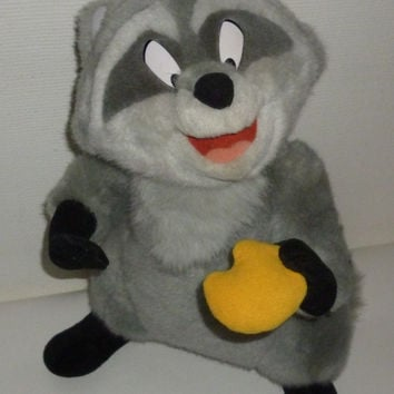 Disney Meeko The Raccoon From Pocahontas Plush Animal