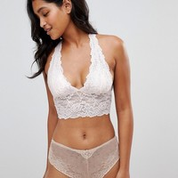 Free People Heartbreaker Longline Bralet at asos.com