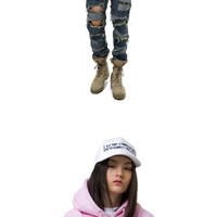 The World is Yours Hoodie - Pink