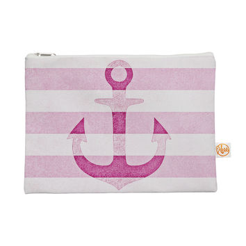 "Monika Strigel ""Stone Vintage Pink Anchor"" Everything Bag"