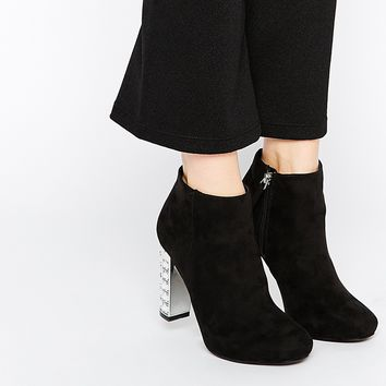 New Look Jewel Heel Boots