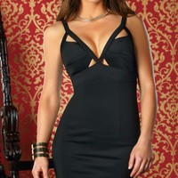 Sexy Cut Out Tank Dress   - Diva Hot Couture