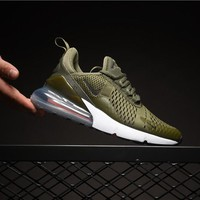 Nike Air Max 270 Olive AH8050-201 Sport Running Shoes - Best Online Sale
