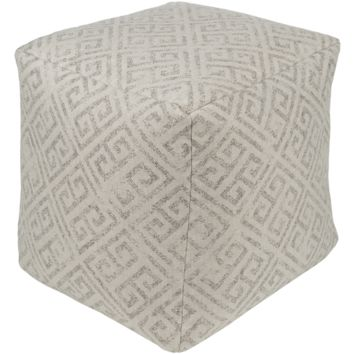 Geonna Pouf ~ Taupe