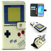 Classic GameBoy Leather Case Cover Wallet for iPhone & Samsung Galaxy