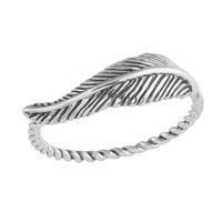 Feather Twist Ring