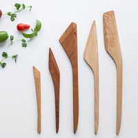 Wooden Cooking Utensil Set (5 pieces)