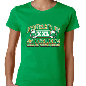 PROPERTY OF St patrick women t-shirt