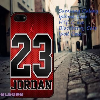 Air Jordan 23 iPhone 5/5S/5C/4/4S, Samsung Galaxy S3/S4, iPod Touch 4/5, htc One X/x+/