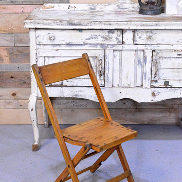 Delicieux Vintage Wood Folding Chair, Fowler Wood Folding Chair, Fowler Chair Company
