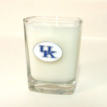 University of Kentucky Candle - Soy Shot Glass Candle - CHOICE OF SCENT