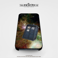 Tardis Dr Who In Galaxy Space case for iPhone, iPod, Samsung Galaxy, HTC One, Nexus