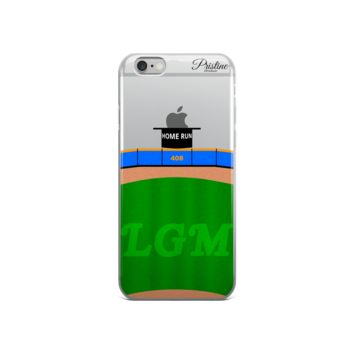 Mets Home Run Apple iPhone Case