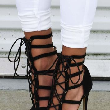 Shes All That Heels: Black