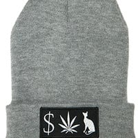 Classy Brand MONEY WEED PUSSY CAT BEANIE : Karmaloop.com - Global Concrete Culture