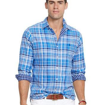 Polo Ralph Lauren Double-Faced Plaid Oxford Shirt